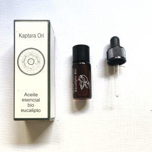 aceite esencial de eucalipto bio, quimiotipado primera presion en frío, resfriados