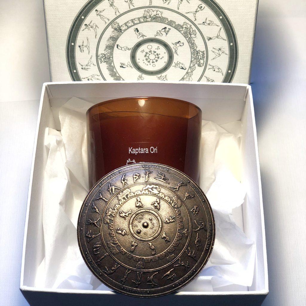 vela aromatica, escudo apagavelas