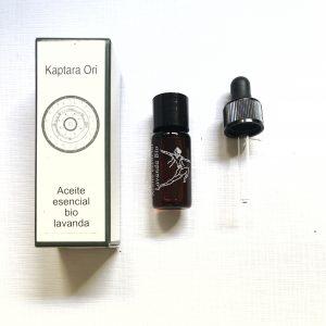 aceite esencial de lavanda bio, quimiotipado, primera presion en frio