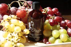 aceite vegetal biológico de pepita de uva