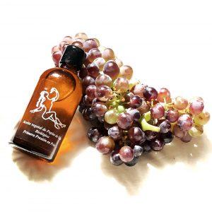 The prodigious oil: aceite de pepita de uva