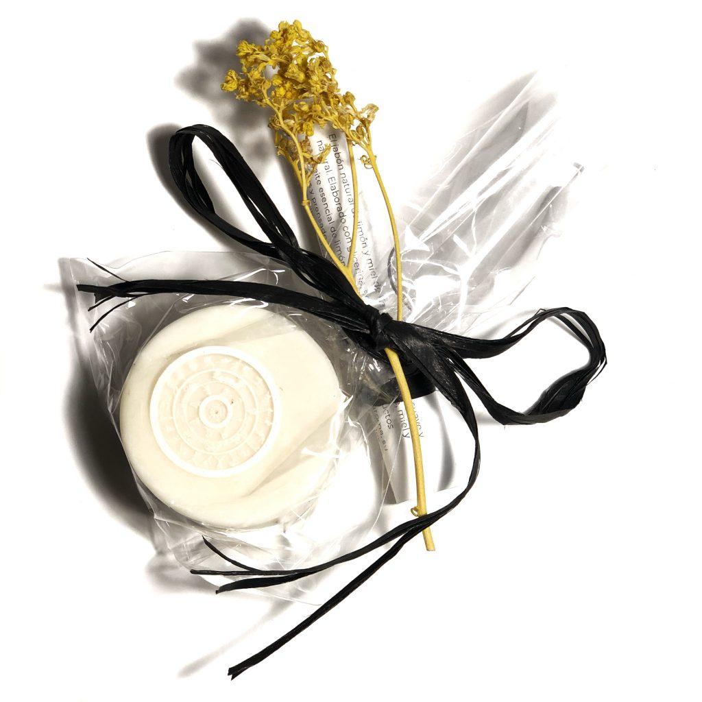 jabón natural de glicerina