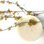 jabon natural de glicerina de limón y miel