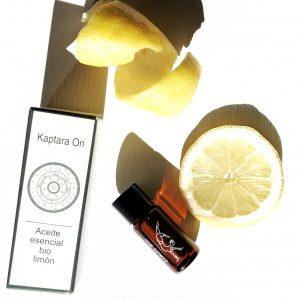 Essential four: aceite esencial de limón